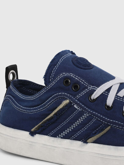 Diesel - S-ASTICO LOW LACE, Bleu - Baskets - Image 4