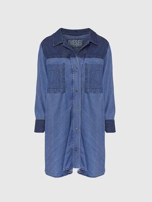 DE-NILLA, Bleu Clair - Chemises en Denim