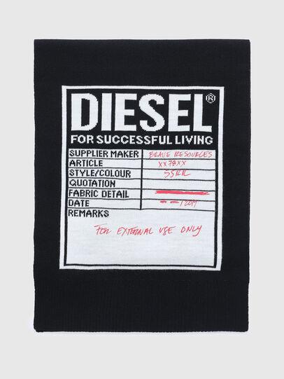 Diesel - K-GUBO D, Noir - Écharpes - Image 1