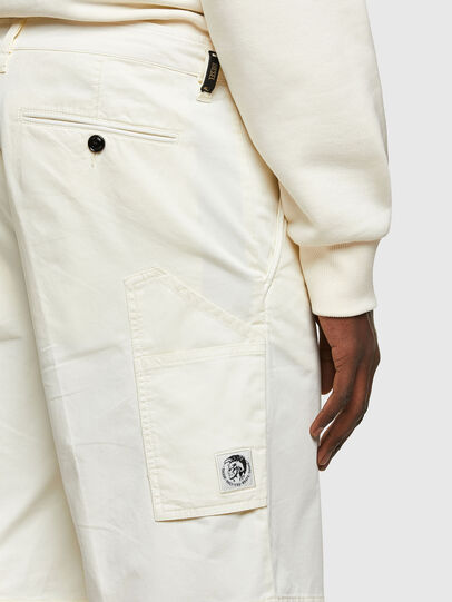 Diesel - P-HATY, Blanc - Shorts - Image 3