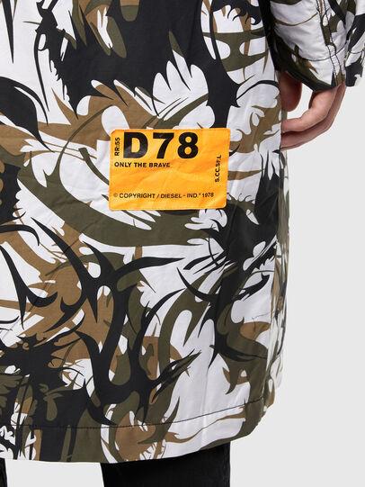 Diesel - W-TORRENCE, Blanc/Noir - Vestes d'hiver - Image 4