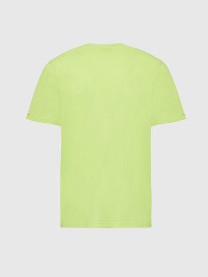 Diesel - T-MOONY-X2, Vert Fluo - T-Shirts - Image 2