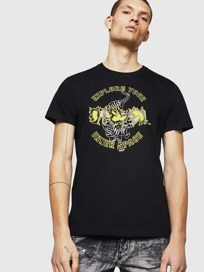 Diesel - T-DIEGO-B15, Noir - T-Shirts - Image 1