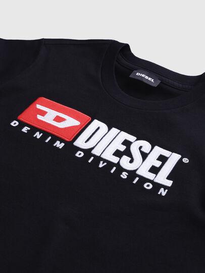 Diesel - TJUSTDIVISION, Noir - T-shirts et Hauts - Image 3