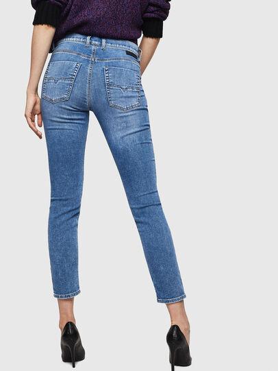 Diesel - Krailey JoggJeans 069IH, Bleu Clair - Jeans - Image 2