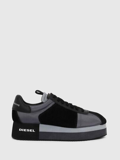 Diesel - S-PYAVE WEDGE, Bleu/Noir - Baskets - Image 1