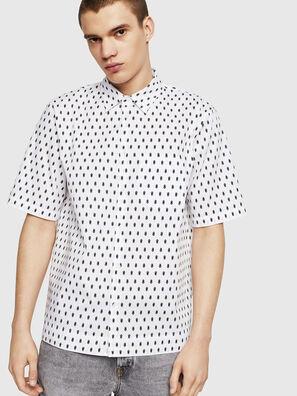S-FRY-SKULL, Blanc - Chemises