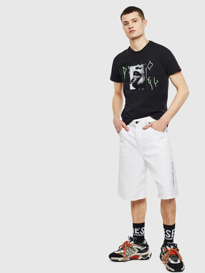 Diesel - T-DIEGO-S12, Noir - T-Shirts - Image 5