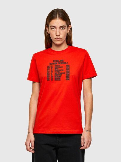 Diesel - T-DIEGOS-A11, Orange - T-Shirts - Image 1