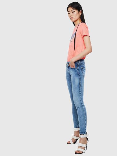 Diesel - Slandy Low 0095P, Bleu Clair - Jeans - Image 5