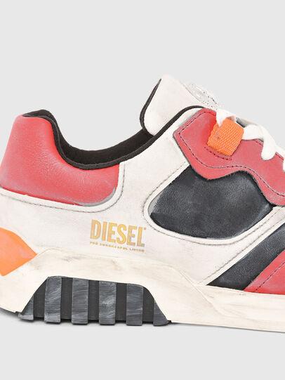 Diesel - S-RUA LOW SK, Blanc/Rouge - Baskets - Image 4