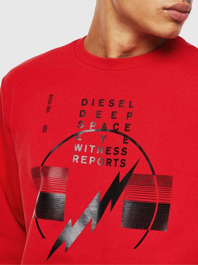 Diesel - S-GIRK-J2, Rouge - Pull Cotton - Image 3