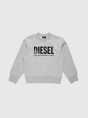 SCREWDIVISION-LOGO O, Gris - Pull Cotton