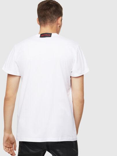 Diesel - LCP-T-DIEGO-NAIROBI, Blanc - T-Shirts - Image 3