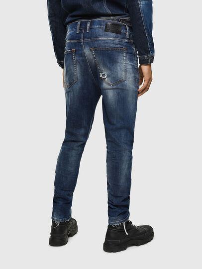 Diesel - D-Vider 0090G, Bleu Foncé - Jeans - Image 2