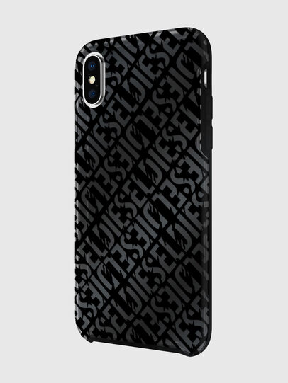 Diesel - DIESEL PRINTED CO-MOLD CASE FOR IPHONE XS & IPHONE X, Noir - Coques - Image 5