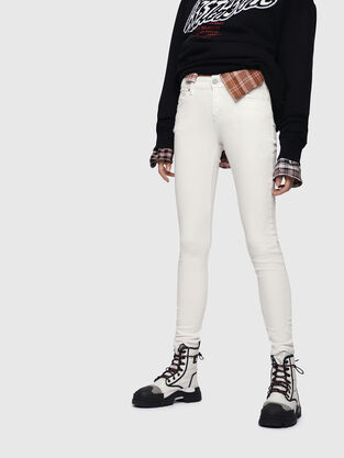 Slandy 086AD, Blanc - Jeans