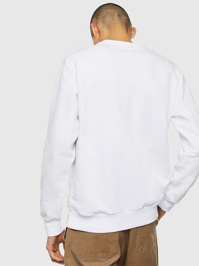 Diesel - S-GIRK-J3, Blanc - Pull Cotton - Image 2