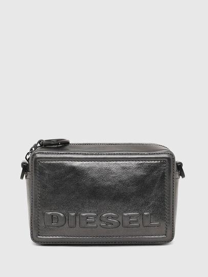 Diesel - ROSA' CNY, Gris argenté - Sacs en bandoulière - Image 1