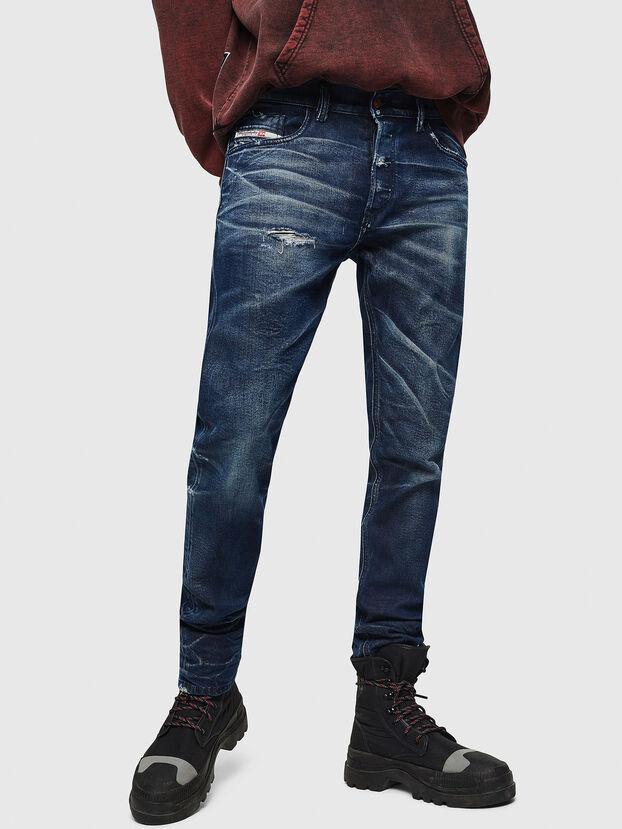 Tepphar 084AM, Bleu Foncé - Jeans