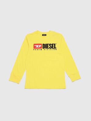 TJUSTDIVISION ML, Jaune - T-shirts et Hauts