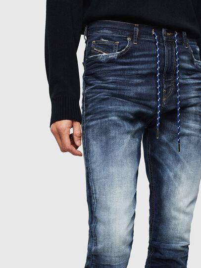 Diesel - D-Vider JoggJeans 069KD, Bleu Foncé - Jeans - Image 3