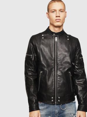 L-TOVMAS, Noir - Vestes de cuir