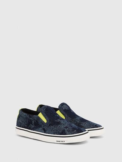 Diesel - SN SLIP ON 01 LC CH, Bleu - Footwear - Image 2