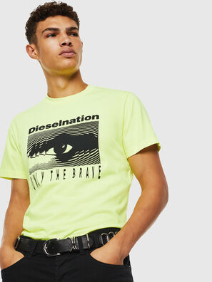 T-DIEGO-J4, Jaune Fluo - T-Shirts