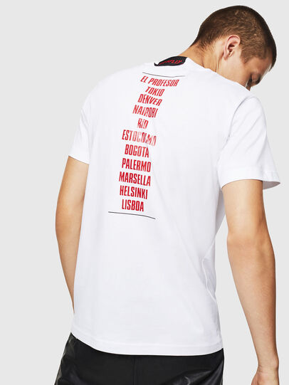 Diesel - LCP-T-DIEGO-CASA, Blanc - T-Shirts - Image 3