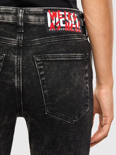 Diesel - Babhila 009FH, Noir/Gris foncé - Jeans - Image 4
