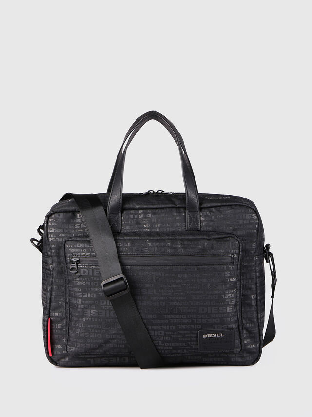 Diesel - F-DISCOVER BRIEFCASE, Noir - Attachés case - Image 1