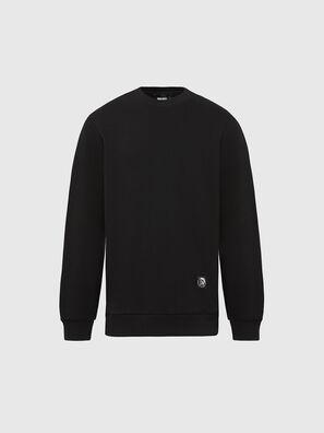 S-GIRK-MOHI, Noir - Pull Cotton