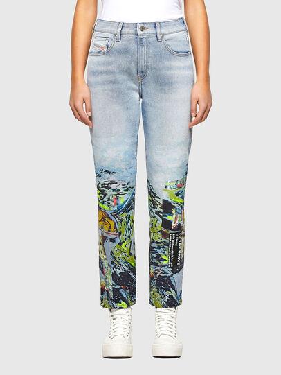 Diesel - D-Joy 009IZ, Bleu Clair - Jeans - Image 1