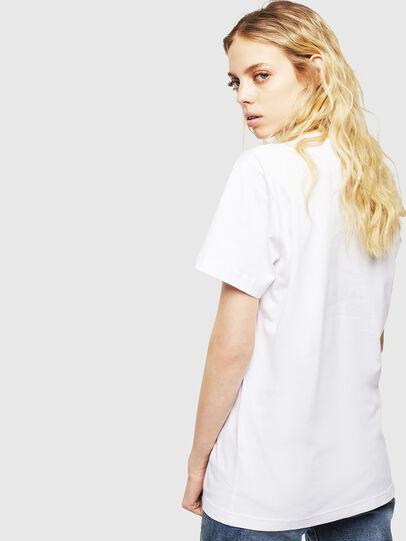 Diesel - T-DIEGO-CUTY, Blanc - T-Shirts - Image 4