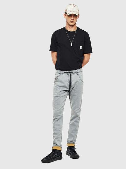 Diesel - Krooley JoggJeans 069MH, Bleu Clair - Jeans - Image 7