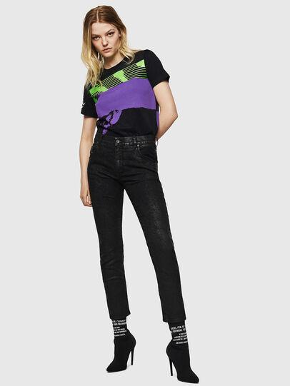 Diesel - Krailey JoggJeans 084AG, Noir/Gris foncé - Jeans - Image 6