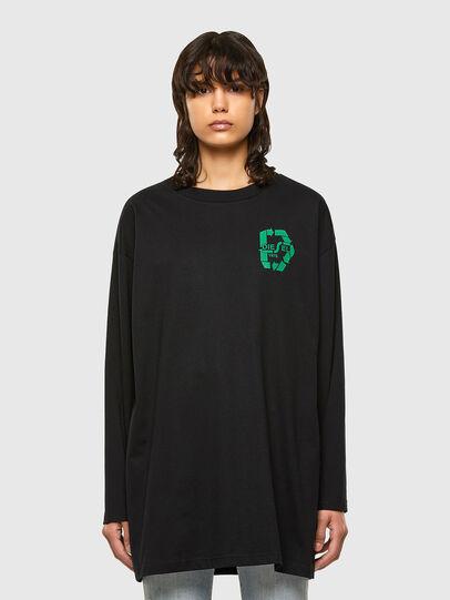 Diesel - T-MIST-E71, Noir - T-Shirts - Image 1
