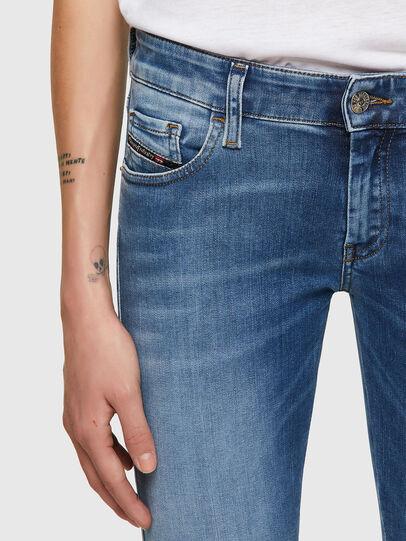 Diesel - Slandy Low 069ST, Bleu Clair - Jeans - Image 3