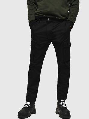 P-JARED-CARGO, Noir - Pantalons