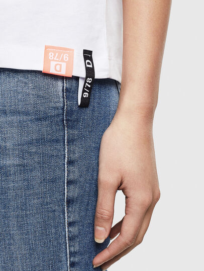 Diesel - T-SILY-S8, Blanc - T-Shirts - Image 5