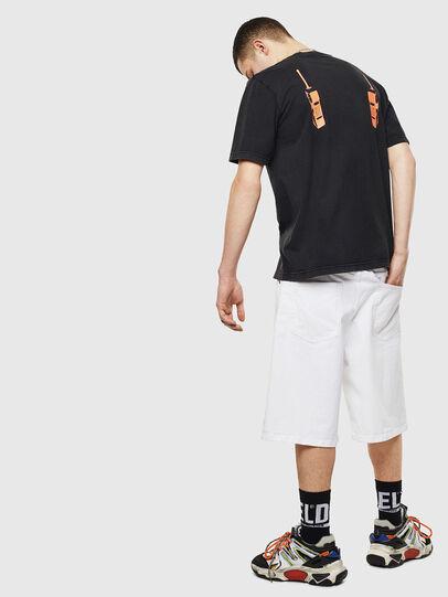 Diesel - T-JUST-T12, Noir - T-Shirts - Image 6