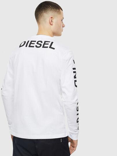 Diesel - T-JUST-LS-T14, Blanc - T-Shirts - Image 2