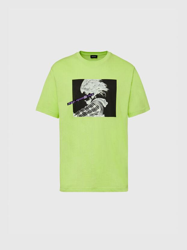 T-TUBOLAR-X20, Vert Fluo - T-Shirts