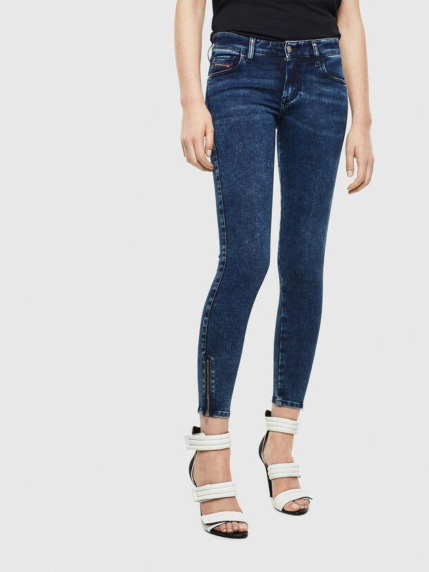 Slandy Low 0094Z, Bleu Foncé - Jeans