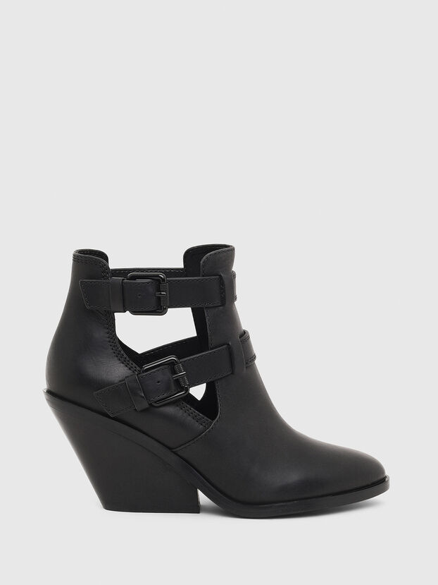 D-FLAMINGO OB, Noir - Bottines