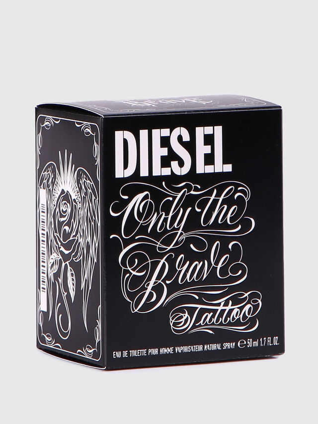 Diesel - ONLY THE BRAVE TATTOO 50 ML, Noir Brillant - Only The Brave - Image 4