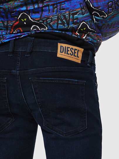 Diesel - Sleenker 083AG, Bleu Foncé - Jeans - Image 5