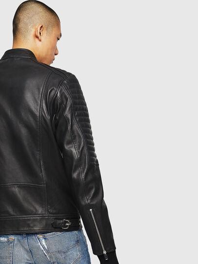 Diesel - L-SHIRO, Cuir Noir - Vestes de cuir - Image 5