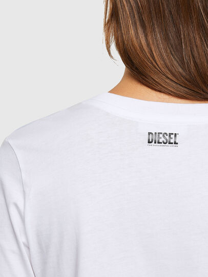Diesel - T-SILY-V20, Blanc - T-Shirts - Image 4